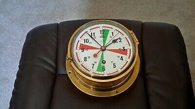 6in Dail. Brass Engine room /ship's clock
