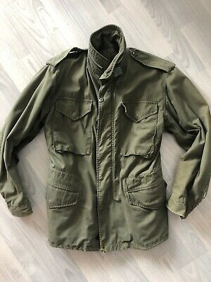 1968 Vietnam US Army Field Jacket M 65 Vintage Military OG