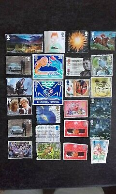 24 Royal Mail Franked Unfranked Commemorative Stamps James Bond 007 Corrie Xmas