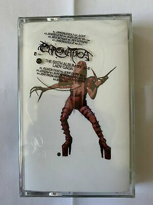 Lady Gaga Chromatica Green Cassette UK Exclusive New Sealed Sold Out