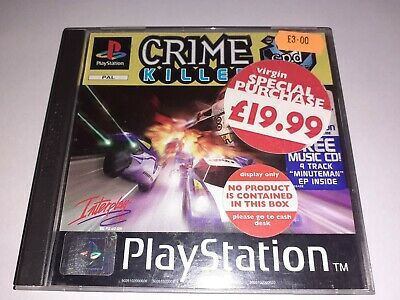 Crime killer replacement case only ps1