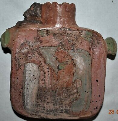 "Sale!! Pre Columbian Mayan Poison Pot, 6"" Prov"
