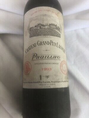 Chateau Grand Puy Lacoste Pauillac 1993