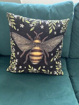 Catherine Rowe Designs Faux Suede Bee Cushion
