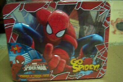 Sealed Spiderman Lunchbox With Puzzle