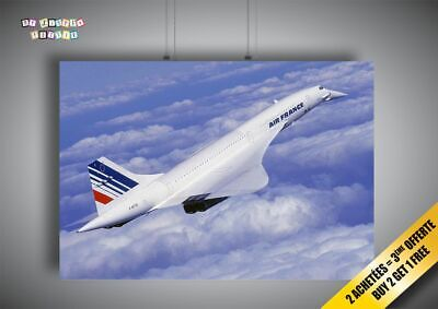 CONCORDE-FLYING-Wall-Art-Poster-