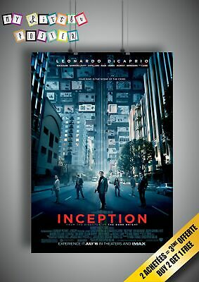 INCEPTION Poster Movie Wall Art Affiche