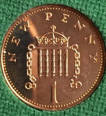 1p ONE PENCE NEW PENNY COIN - RARE 1975 1p COIN - UK Decimal COLLECTABLE