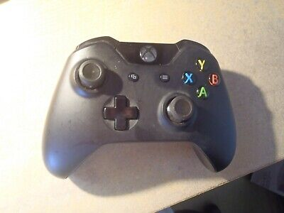 Official Microsoft Xbox One Wireless Controller - Black. Used. Unboxed.Fast post