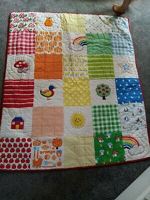 Little Bird By Jools Oliver Patchwork Quilt For A Cot Or A Cot Bed 🌈