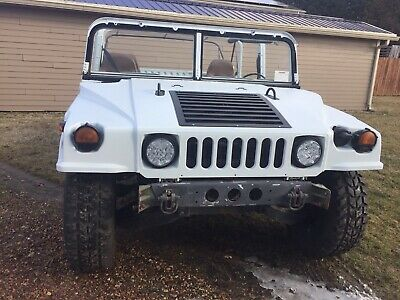 1980 Hummer H1 Military 1993 Hummer H1 HMMWV MILITARY M998  4 Door  Fresh Paint  New Seats