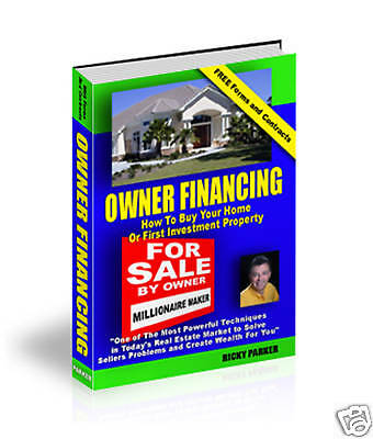 Owner Financing Course-Buy Real Estate w/No Money Down