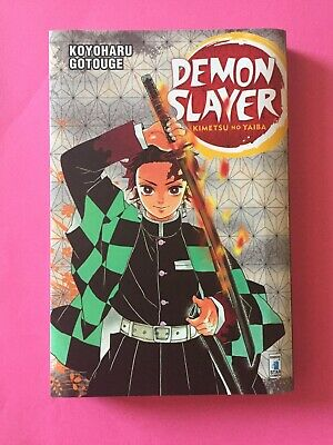 Manga Anime Kimetsu No Yaiba DEMON SLAYER 1 VARIANT COVER Napoli Comicon Raro