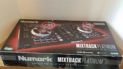 Open Box Numark Mixtrack Platinum 4-Channel Digital DJ Controller