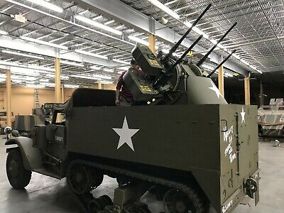 1943 Armored Personnel Carrier M3 Half-Track