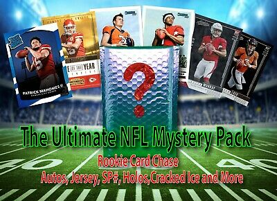 NFL Football Mystery Hot Pack-Auto/SP/Patch/Rookie Card Chase! Read Description