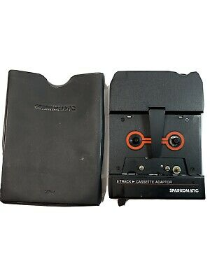 Vintage Sparkomatic 8 Track to Cassette Adapter Made in Japan