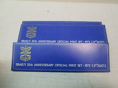 1973 Coins of Israel Official Six Coin Mint Set