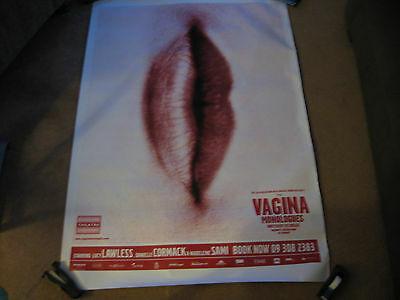 Promo Poster-Vagina Monologues-Lucy Lawless+Danielle Cormack-Xena-Huge-Very Rare