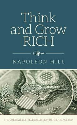Think and Grow Rich by Napoleon Hill - BRAND NEW HARDBACK