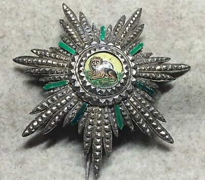 Persia 0 Order of the Lion and Sun, native made