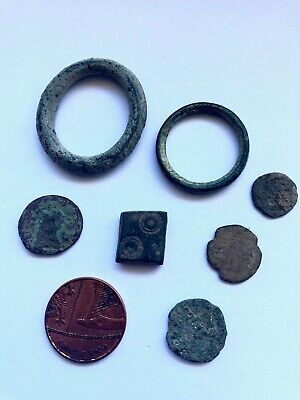 Celtic Money, Byzantine or Roman coins, Byzantine Bronze Cube Solidus Weight