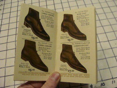 Original Catalog: 1919 THE ANDERSON SHOE ; 64pgs w great shoes & boots