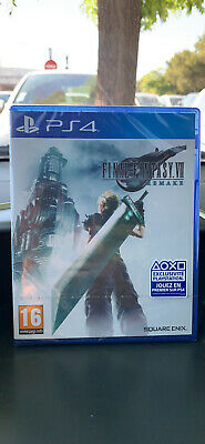 Final fantasy VII remake ps4 Neuf Sous Blister