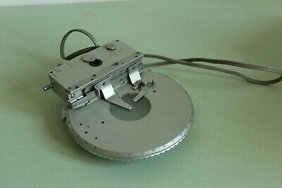Carl Zeiss Jena Microscope Table Rotating With motorized stage AMPLIVAL POL