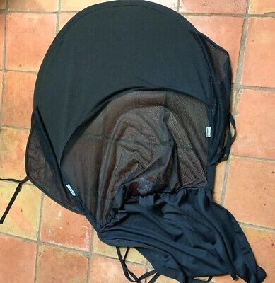 Protect-a-Bub Single Car Seat  Sunshade Black Fits Most Strillers