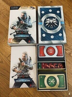 Witcher 3 Gwent Card Set - Hearts of stone Collector Edition (No DLC)