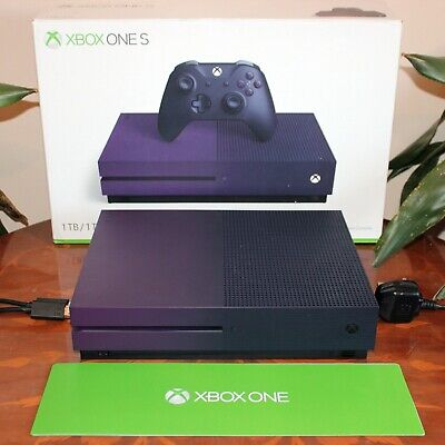 Microsoft Xbox One S Fortnite Special Edition Purple 1TB Console Only - Boxed