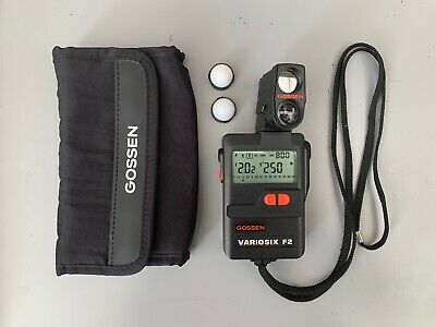 Gossen Variosix f2 Plus Spotmeter And Case