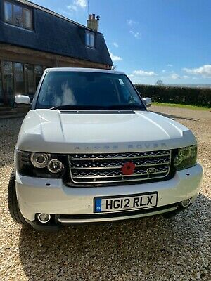 White Range Rover Westminster Automatic 2012 Low Mileage