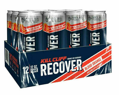 Kill Cliff Recover Performance Recovery Blend 12 Pack - Blood Orange 11/2020