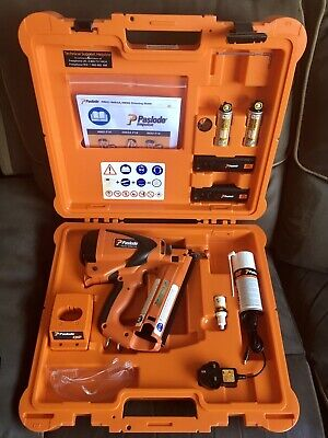 Paslode Im65A F16 Cordless Gas Nail Gun,2Nd Fix Brad, Fully Serviced, New Batts