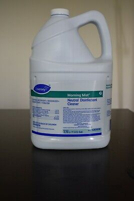 Diversey Morning Mist Neutral Disinfectant Cleaner 1 gallon