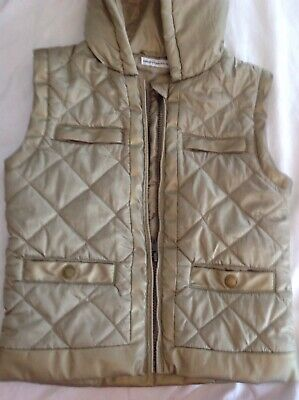 Immaculate French Connection Girls Hooded Gilet Age 8/9