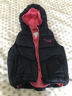Next Girls Gillet With Hood