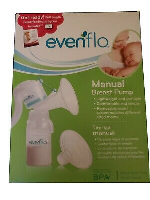 New & Sealed Evenflo Manual Portable Breastpump