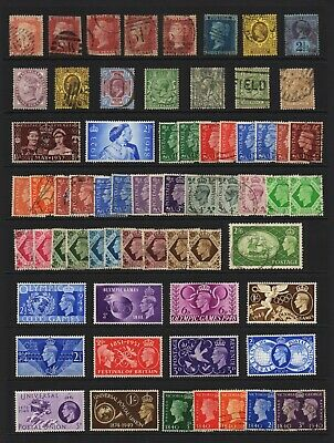 British Commonwealth & GB Used/Mint collection of stamps. 350+. Good condition.