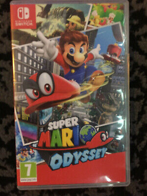 Nintendo Super Mario Odyssey Switch Game