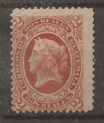 GUATEMALA 1875 2r red mh