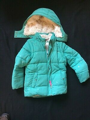 Mini Boden 6-7 Years.  122cm. Warm Fleece Girl's Coat