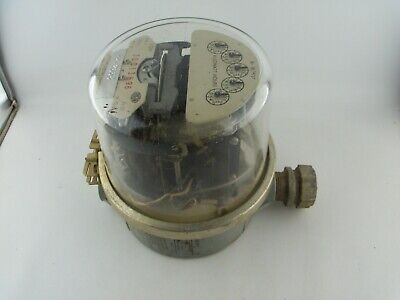 SANGAMO ELECTRIC COMPANY, Watthour Power Meter, Type SE, Steampunk