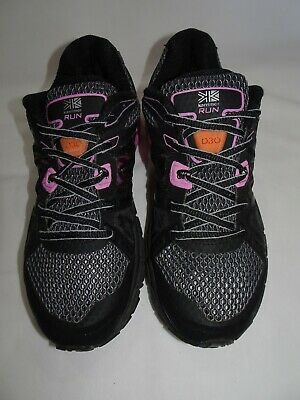 Karrimor Black & Pink D30 Run Trainers *Size 5 UK* Great Condition