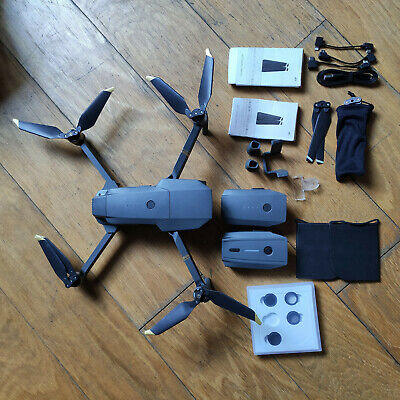 DJI Mavic Pro Quadcopter with case, three batteries, ND filter kit & more