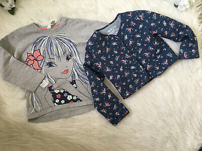 Beautiful Girls DUNNES STORES  Size 6-7 Years Top & Matching Coat Set*Outfit VGC