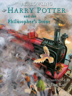 Harry Potter and the Philosopher's Stone: Illustrated J.K. Rowling (English)