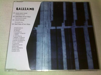 Galliano - Ease Your Mind - 1996 Uk Cd Single
